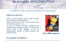 Argonautica - Stratégie de largage des balises