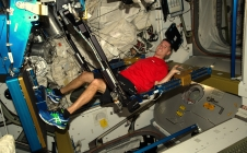 Proxima : le sport à bord de l'ISS