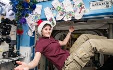 Noël à bord de l'ISS