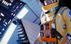 Une scène du film 2001 l'Odyssée de l'Espace