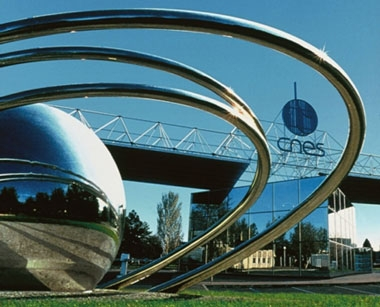 The CST entrance in Toulouse - © CNES/D.DUCROS/C.BARDOU