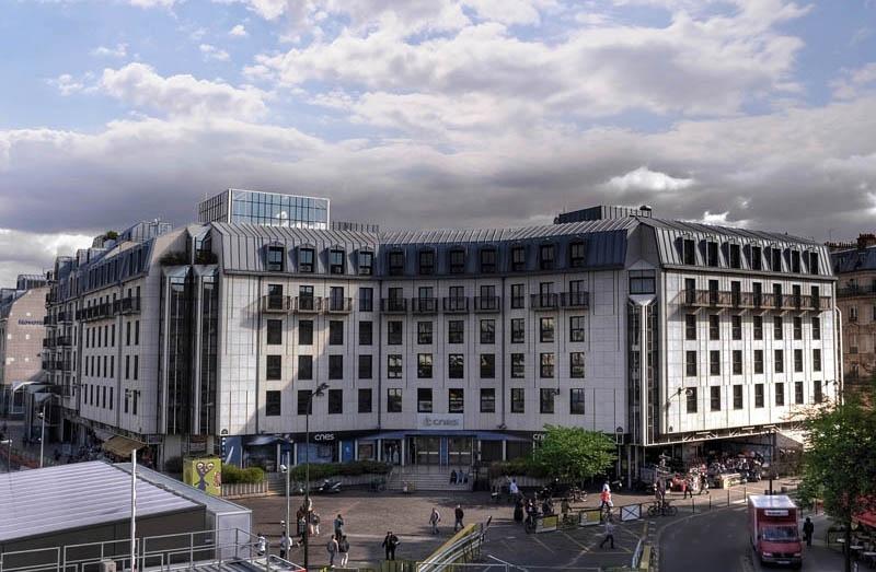 Le siège du CNES à Paris - Les Halles